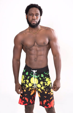 LIVE IRIE BOARD SHORTS