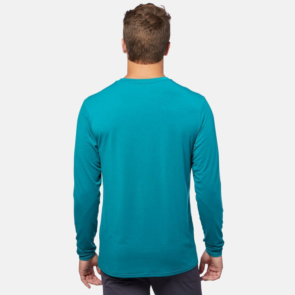 Quito Long - Sleeve Active Shirt - Men's, On Model 3
