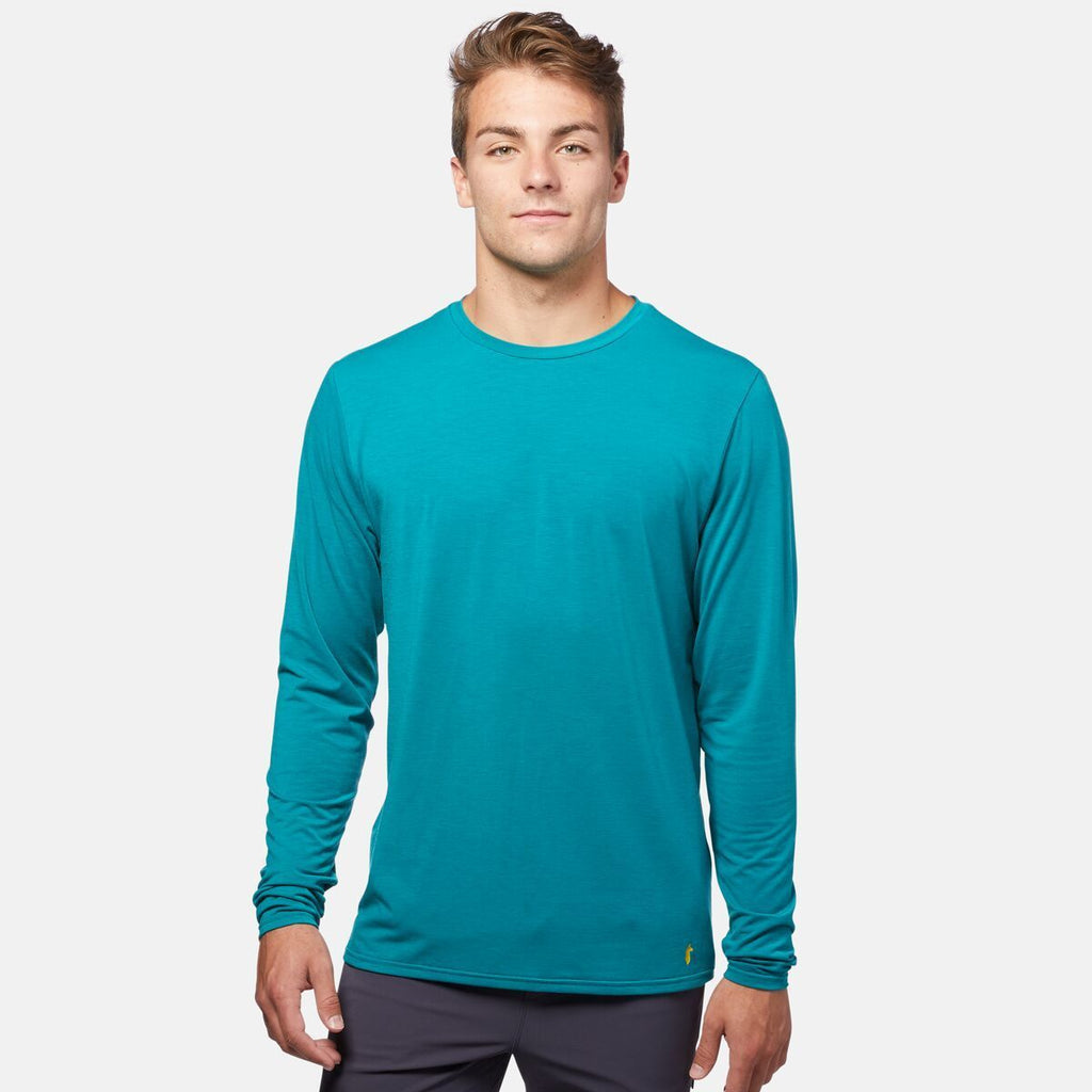 Quito Long - Sleeve Active Shirt - Men's, On Model 1