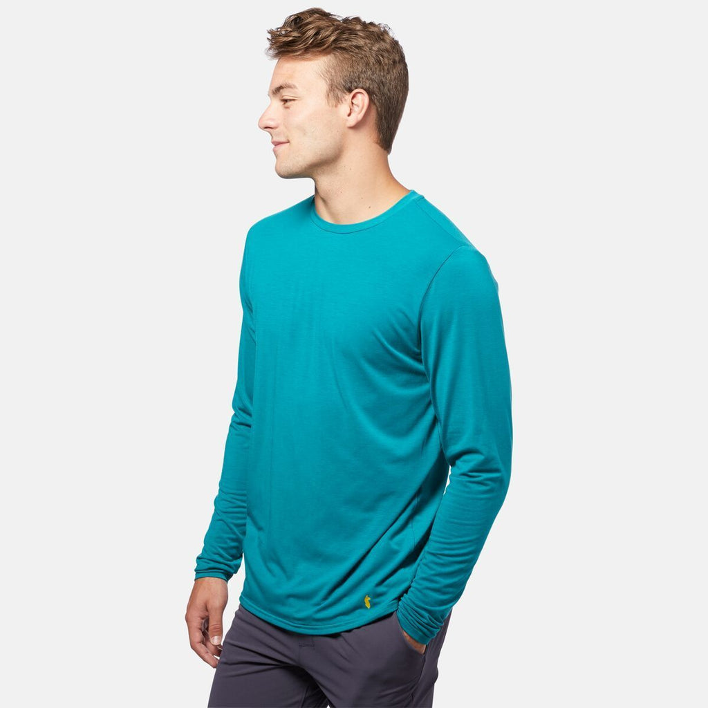 Quito Long - Sleeve Active Shirt - Men's, On Model 2
