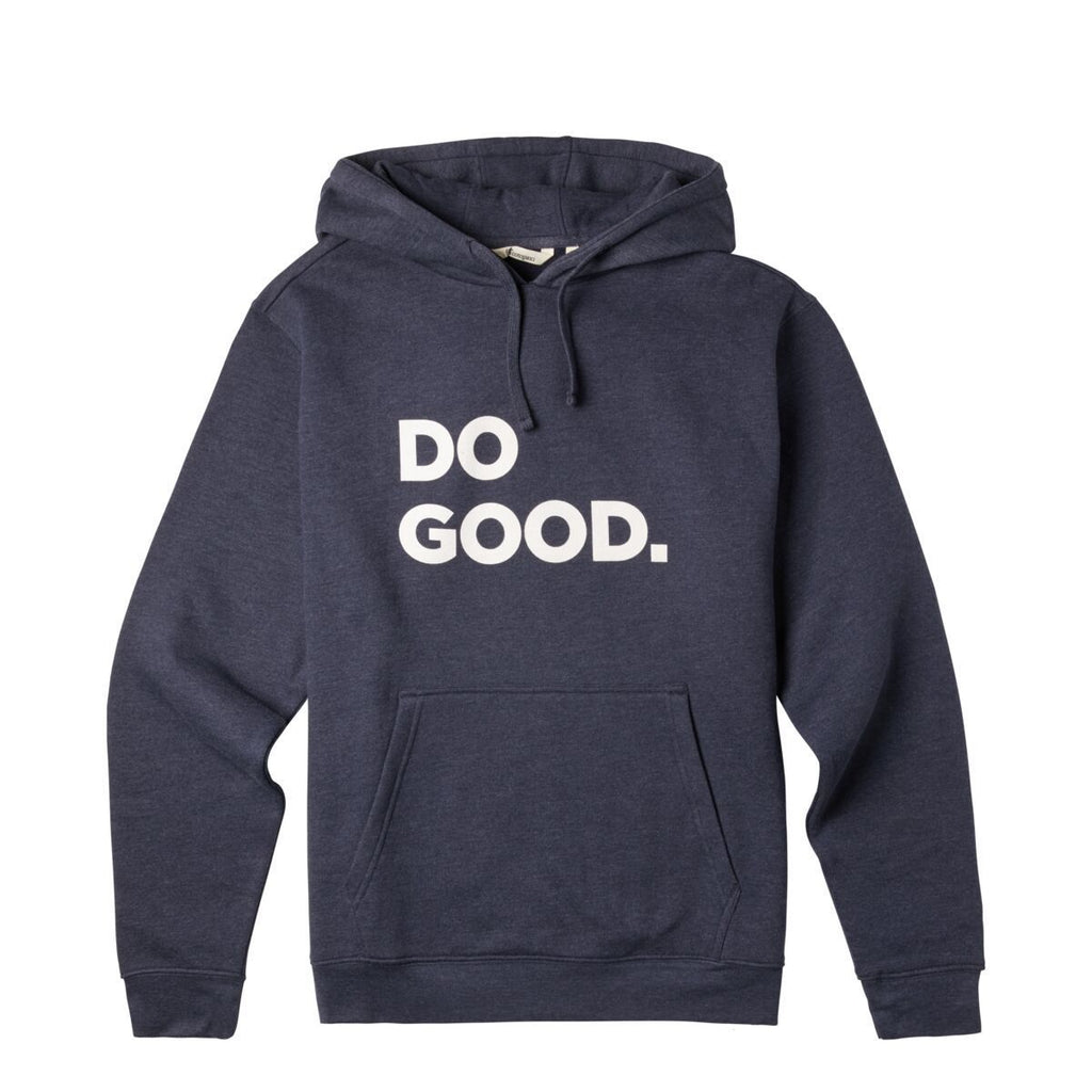 Do Good Pullover Hoodie - Men's, Graphite, Front