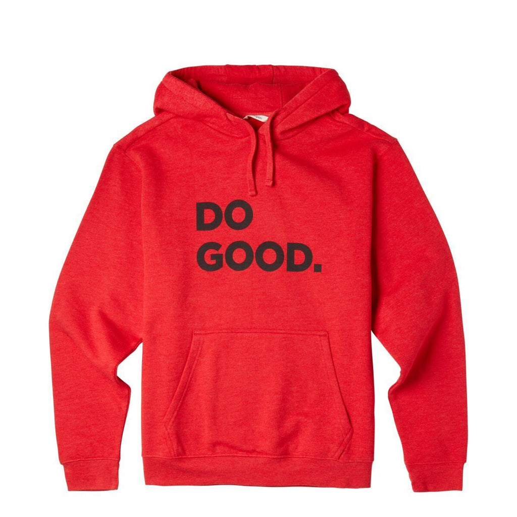 Do Good Pullover Hoodie - Men's, Racing Red, Front