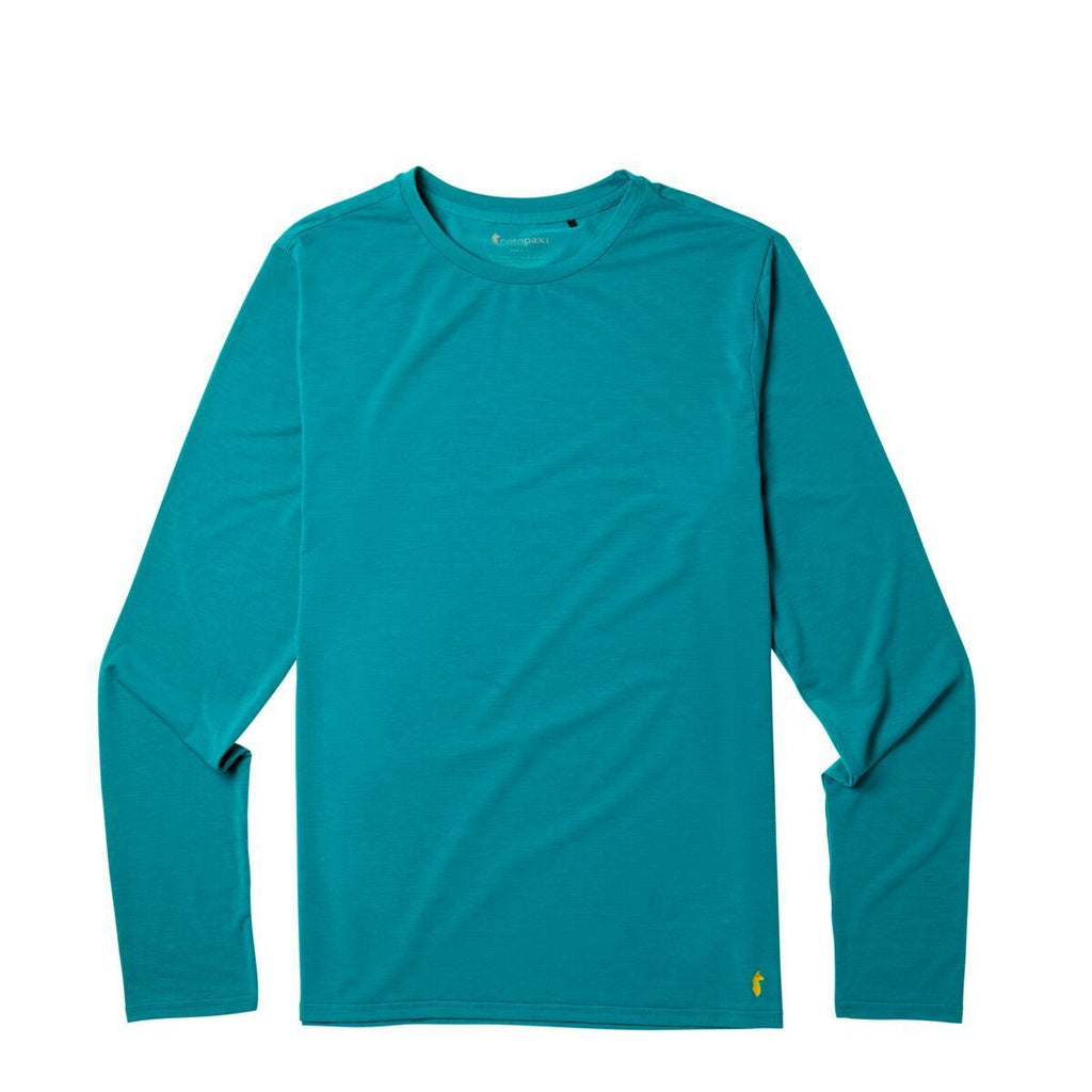 Quito Long - Sleeve Active Shirt - Men's, Evergreen, Front