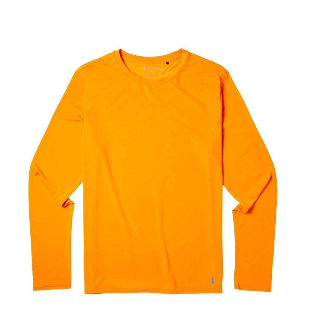 Quito Long - Sleeve Active Shirt - Men's, Persimmon, Front