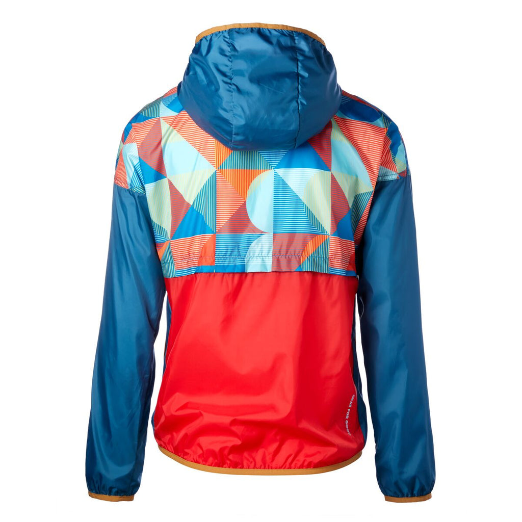 Teca Patterned Full-Zip Windbreaker