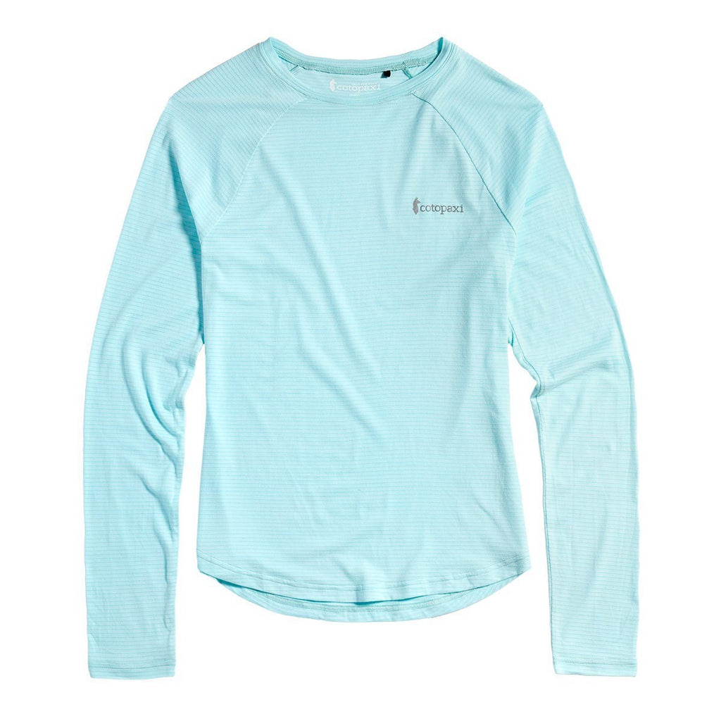 Quito Long-Sleeve Active Shirt - Women's, Aqua, Front
