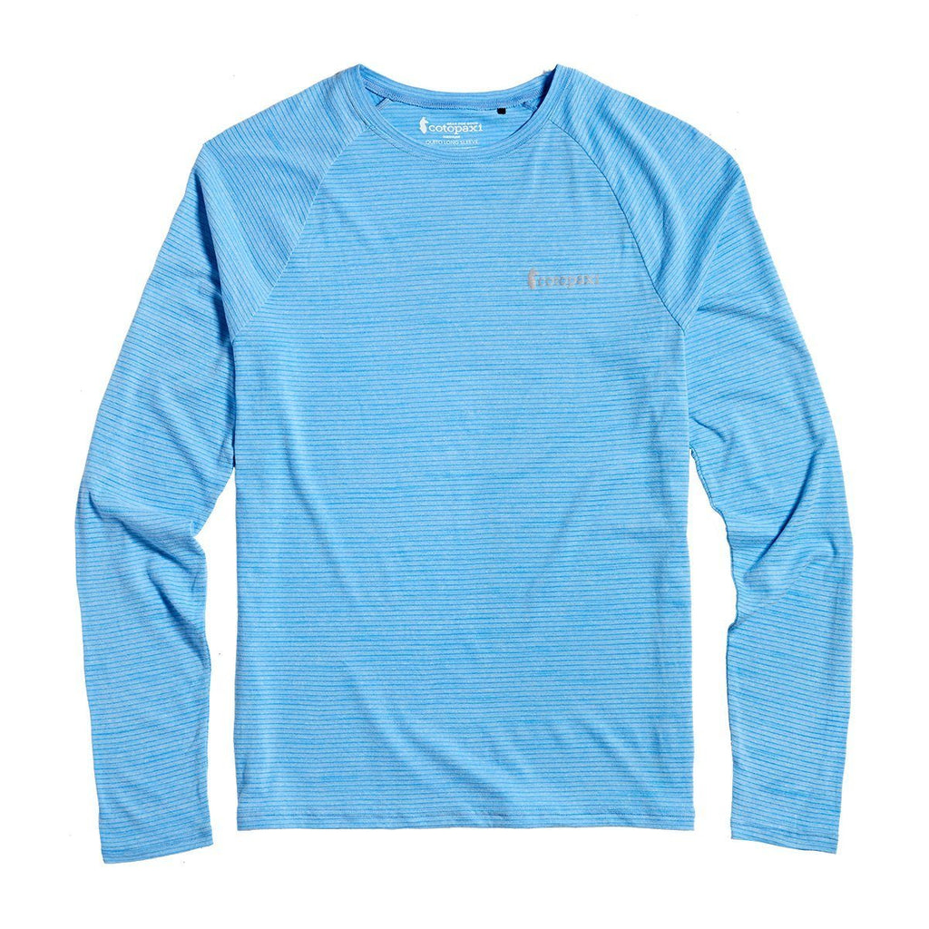 Quito Long-Sleeve Active Shirt - Men's, Sky, Front