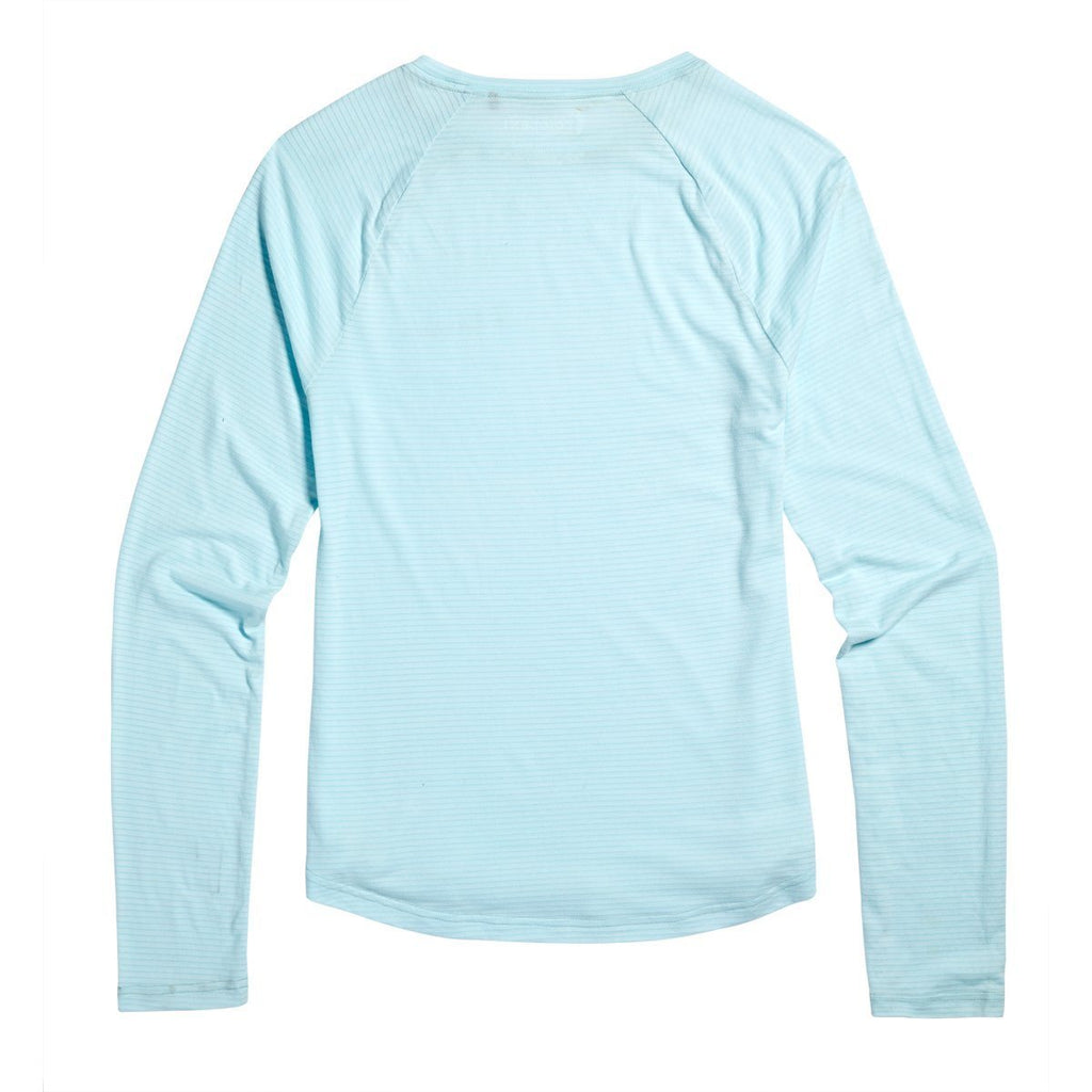 Quito Long-Sleeve Active Shirt - Women's, Aqua, Back