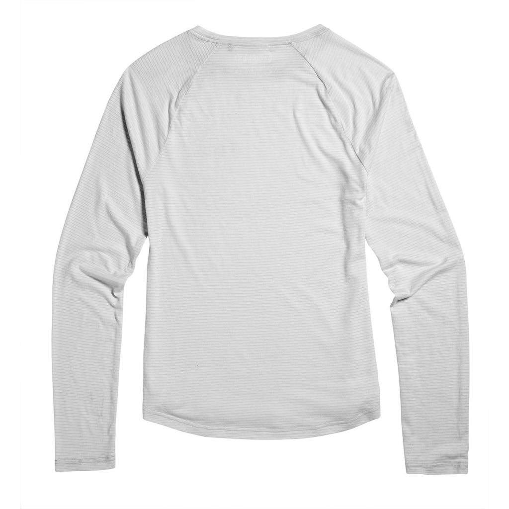 Quito Long-Sleeve Active Shirt - Women's, Shark, Back