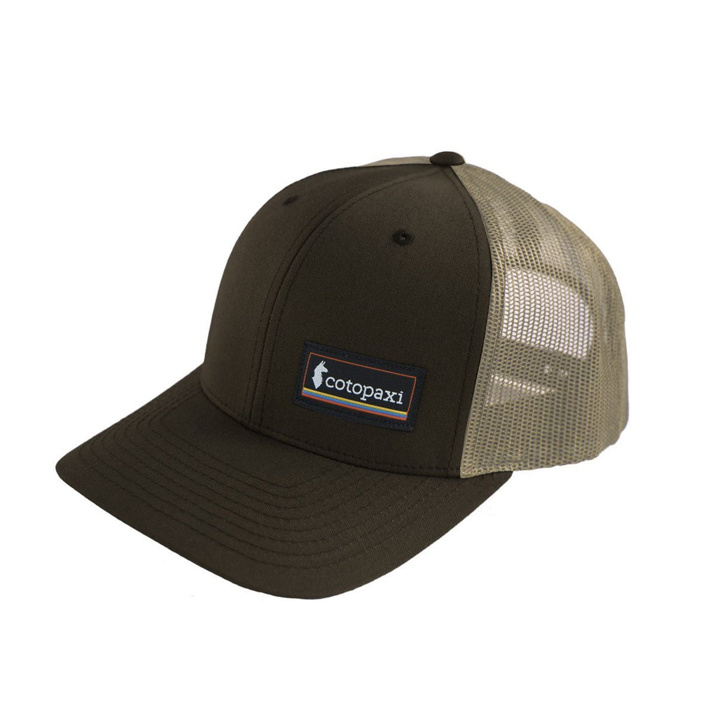 Cotopaxi - Retro Trucker Hat - Brown/Khaki