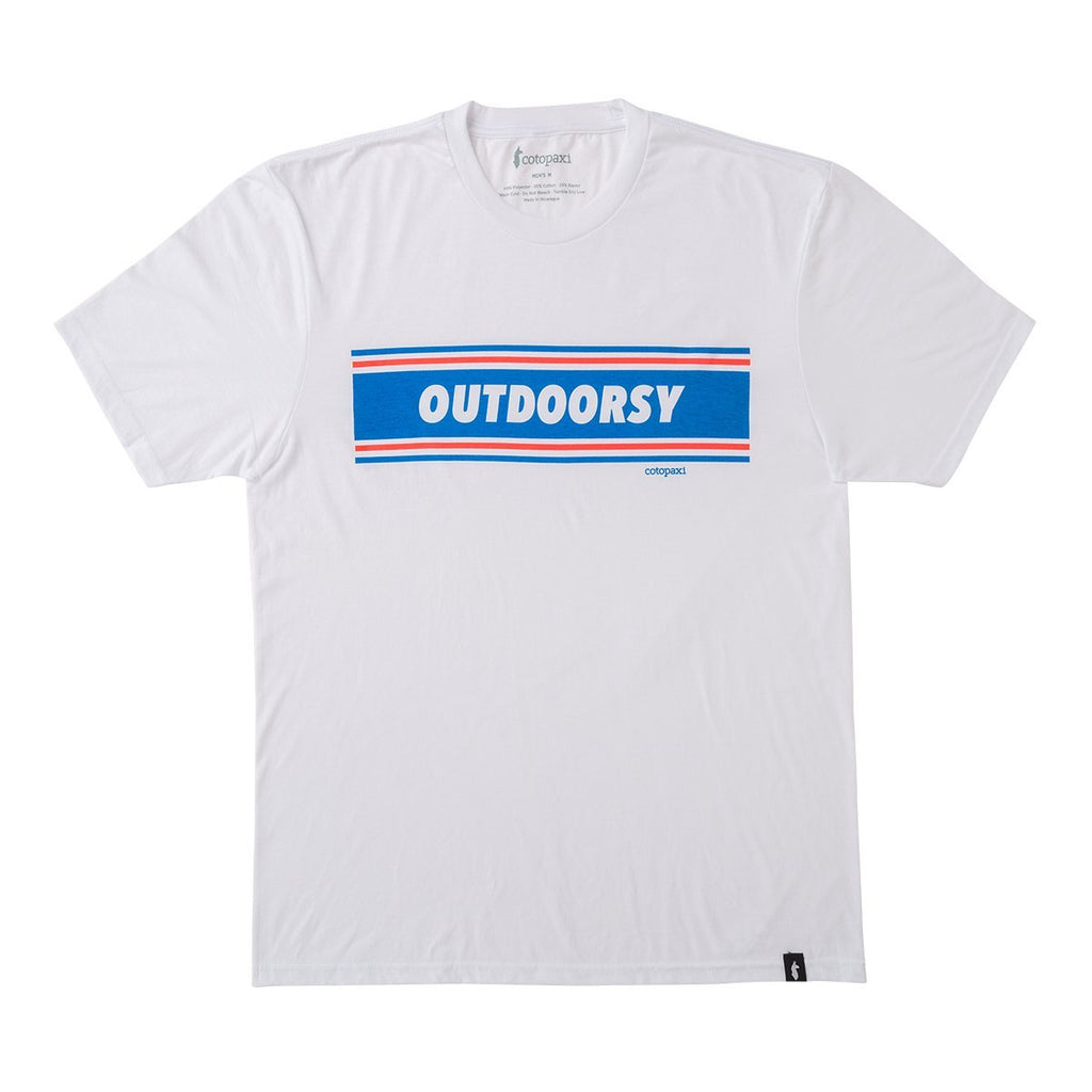 Outdoorsy Tee - Men's