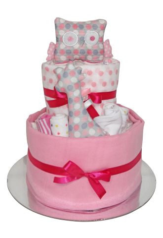 girls 2 tier nappy cakes adelaide