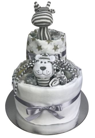 Jungle Essentials Nappy Cake - Unisex