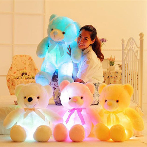LED Stuffed Teddy Bear - DiscountTronics.com