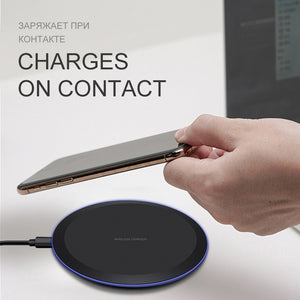 Wireless Qi Charger Pad - DiscountTronics.com