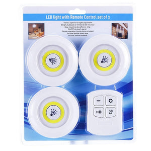 Remote Control Dimmable LED Closet Lights - DiscountTronics.com