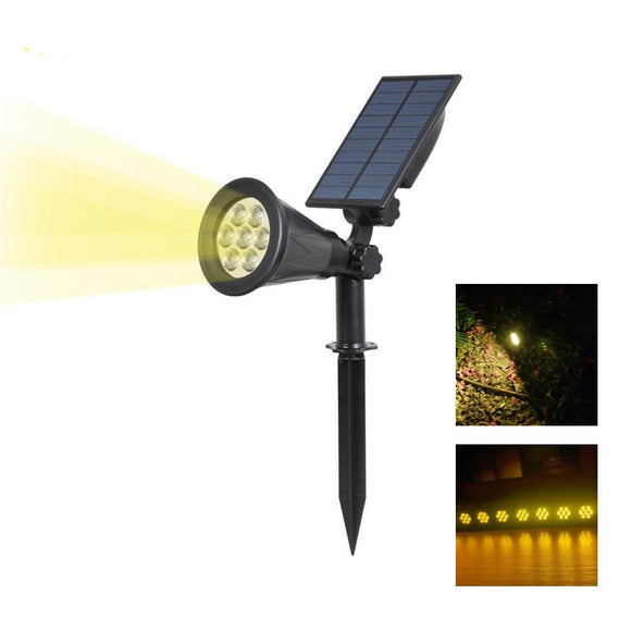 Solar Outdoor Spotlight - DiscountTronics.com