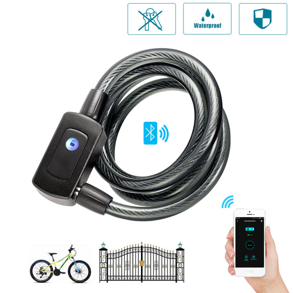 Bio-metric Fingerprint Bike And Gate Lock - DiscountTronics.com