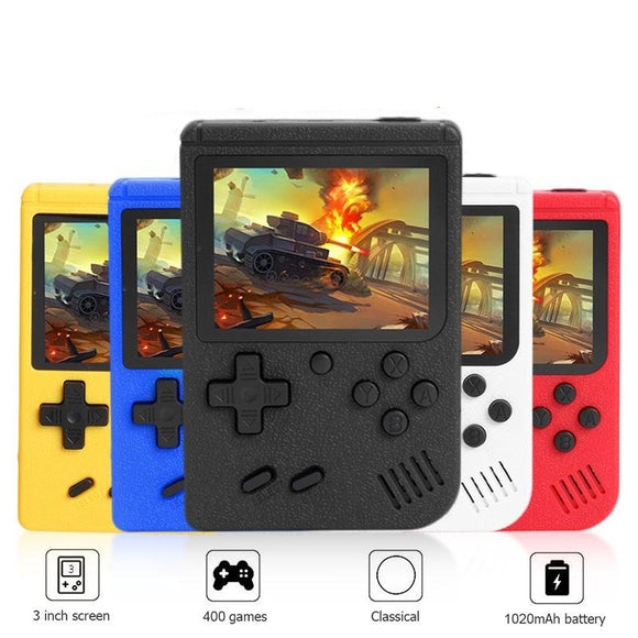 Pocket Arcade Game Console (400 Games) - DiscountTronics.com