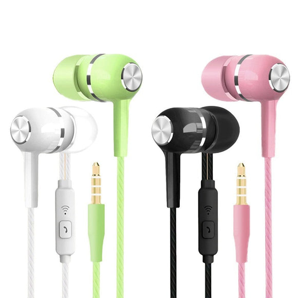 Stereo Earbuds With Microphone - DiscountTronics.com