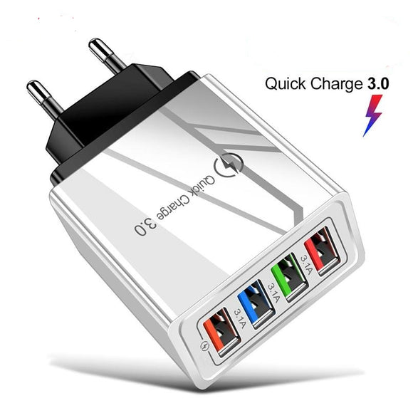 Quick Charge 3.0 USB Phone Charger - DiscountTronics.com