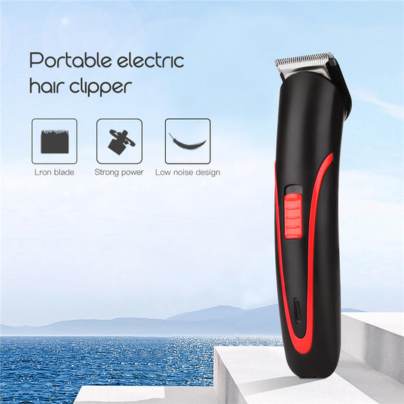 Rechargeable Hair And Beard Trimmer - DiscountTronics.com