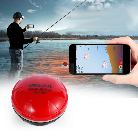 Mobile Sonar Fish Detector - DiscountTronics.com