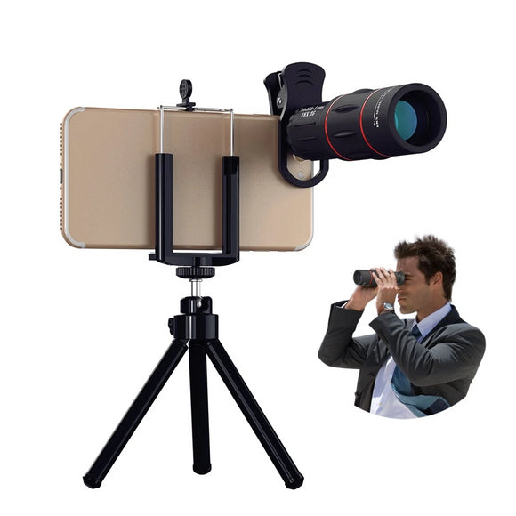 18X Zoom Monocular With Tripod - DiscountTronics.com