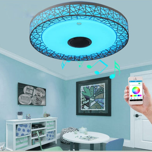 Modern Ceiling Mood Lights And Audio Player - DiscountTronics.com