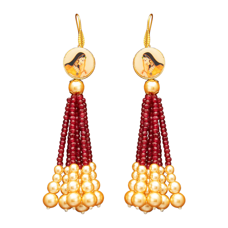 Rani Earrings - The Pink Bazaar