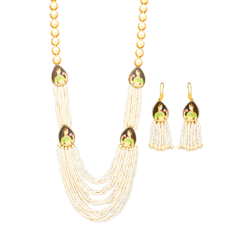 Rani Necklace Set - The Pink Bazaar