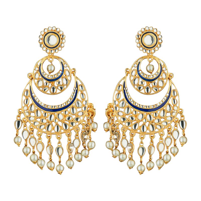 Beeru Jhumka Earrings - The Pink Bazaar