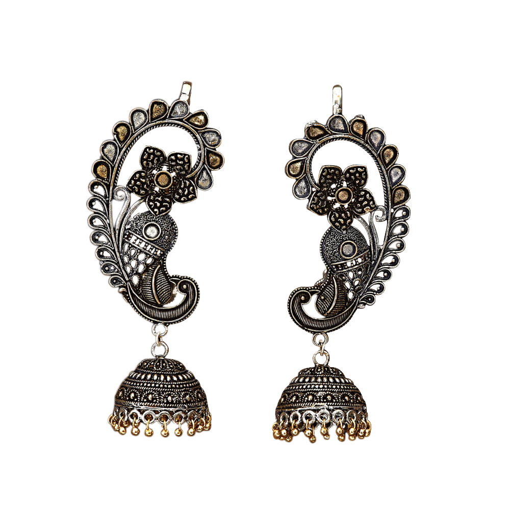 Simran Ear Cuffs - The Pink Bazaar