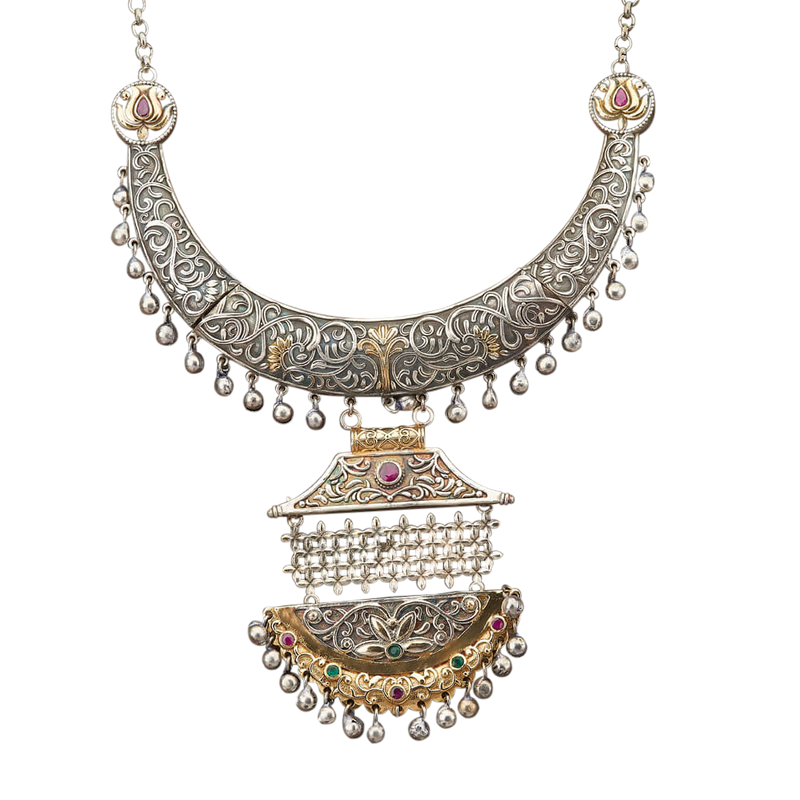 Dinatra Necklace - The Pink Bazaar