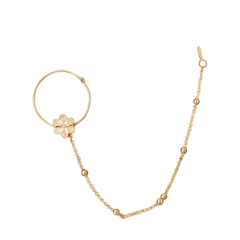 Aarti Nose Ring - The Pink Bazaar