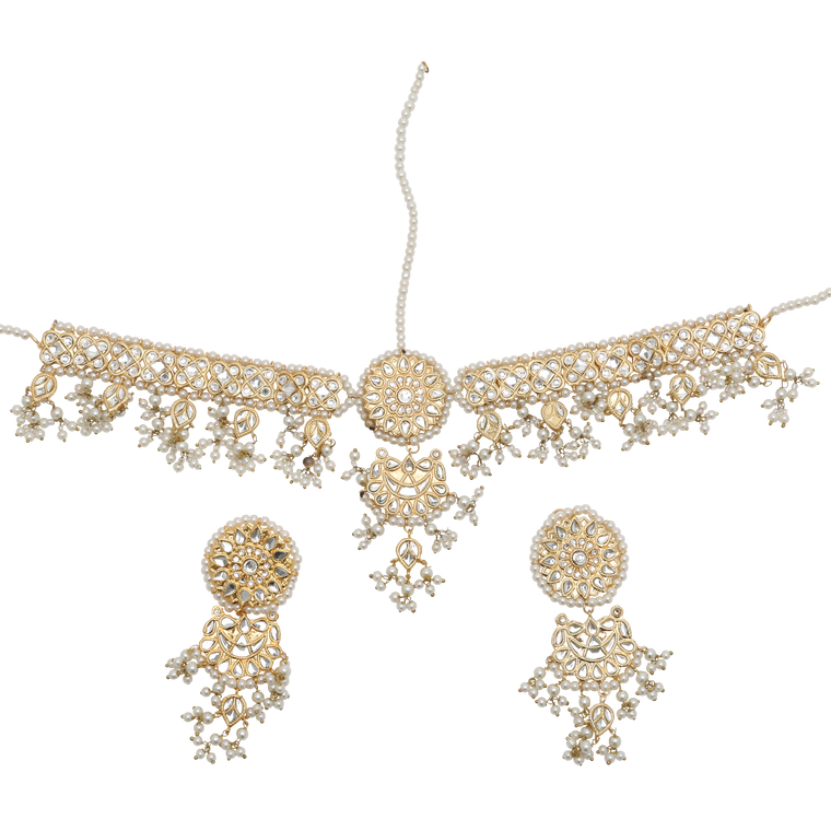Amara Earring and Tikka Set