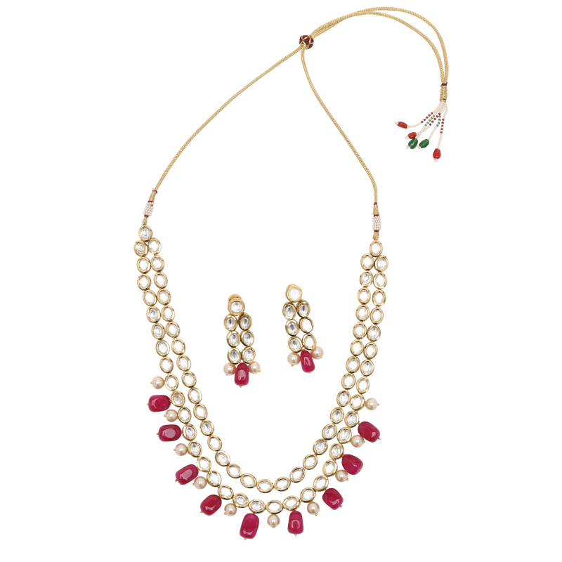Anushka Necklace Set - The Pink Bazaar