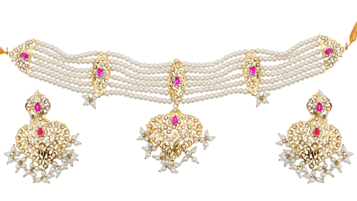 Binal Necklace Set - The Pink Bazaar