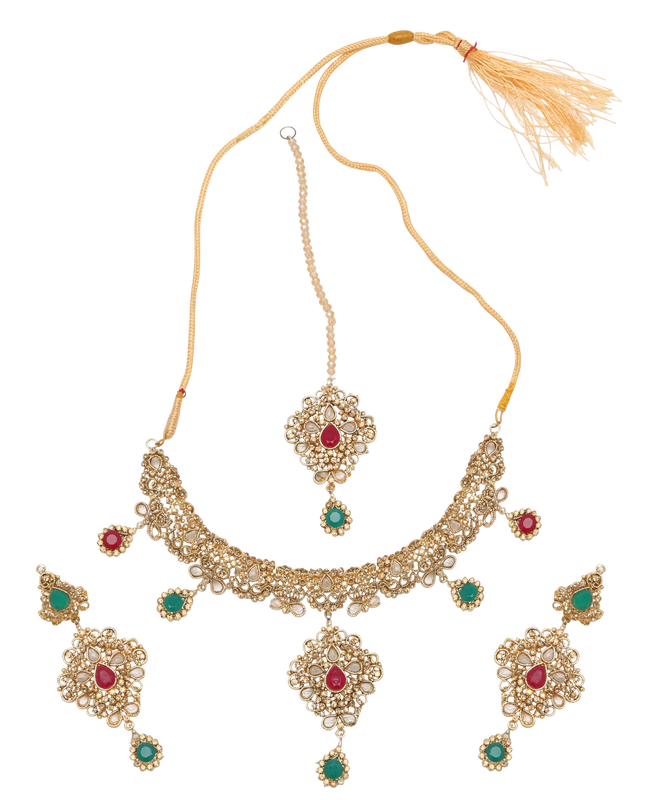 Deepika Festive Necklace Set