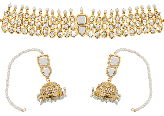 Dipti Choker Set - The Pink Bazaar