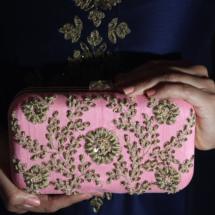 Diana Clutch - The Pink Bazaar