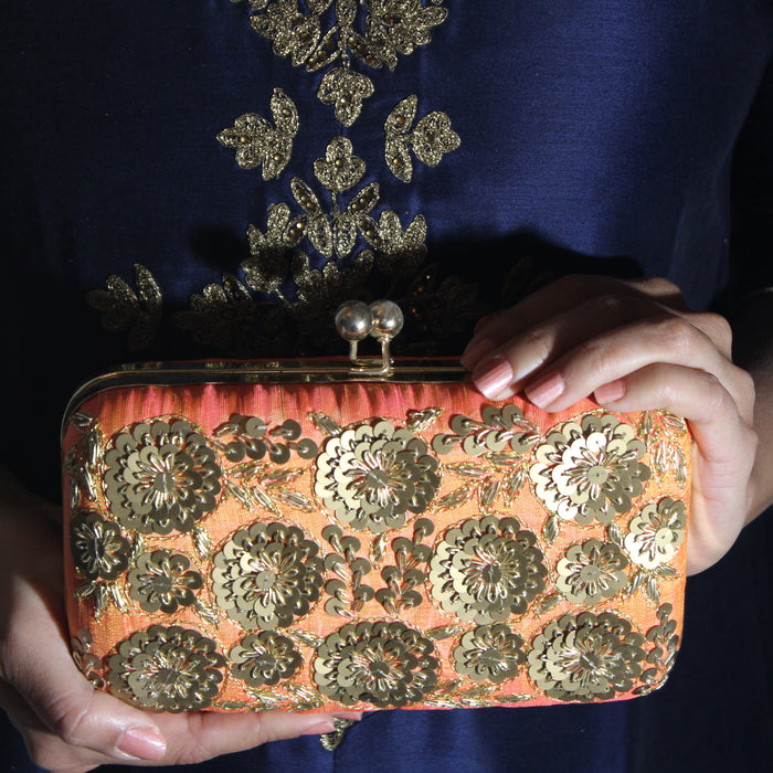 Lalita Clutch - The Pink Bazaar