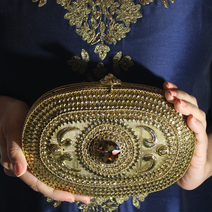 Sheena Clutch - The Pink Bazaar