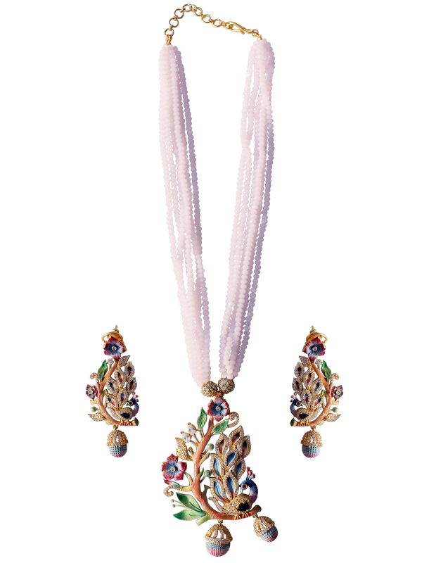 Ishana Necklace Set - The Pink Bazaar