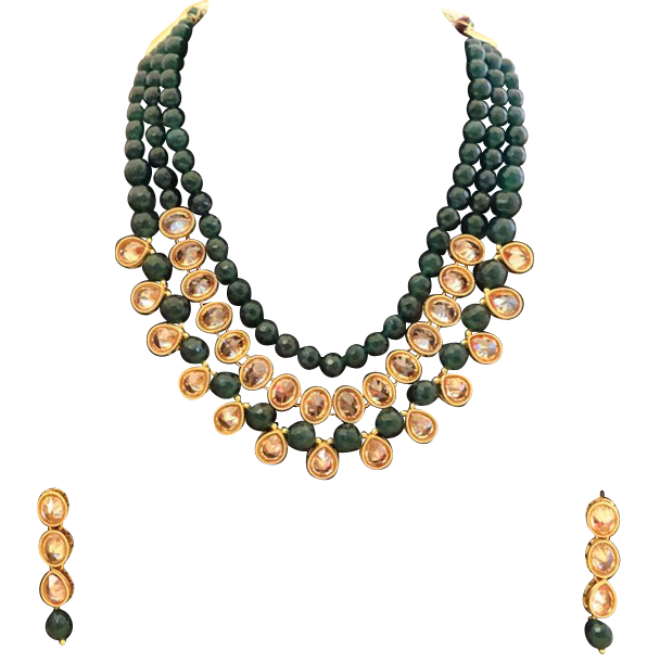 Lalita Necklace Set - The Pink Bazaar