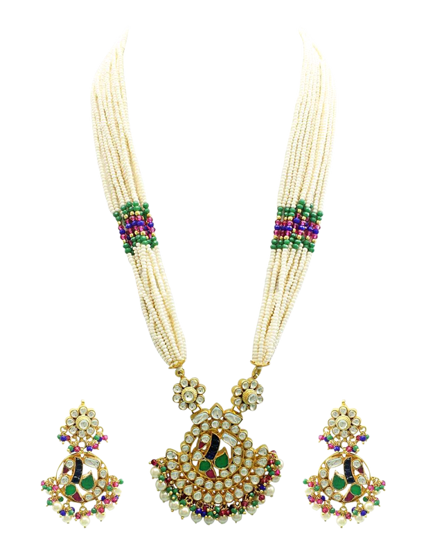 Morni Necklace Set - The Pink Bazaar