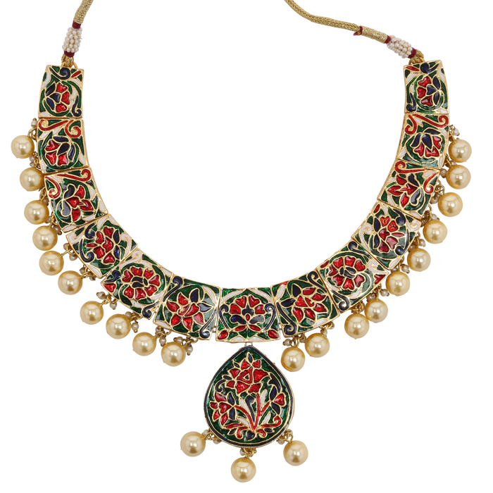 Palki Necklace set - The Pink Bazaar