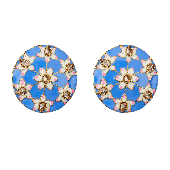 Chandi Studs - The Pink Bazaar