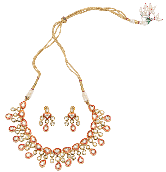 Sidhi Necklace Set - The Pink Bazaar