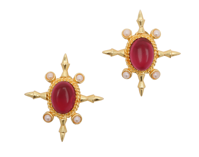 Stuti Earrings - The Pink Bazaar